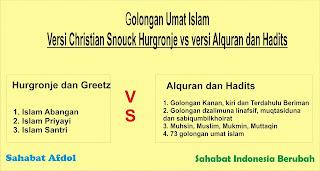 sahabat Indonesia berubah Golongan Umat Islam menurut Islam sendiri Alquran hadits