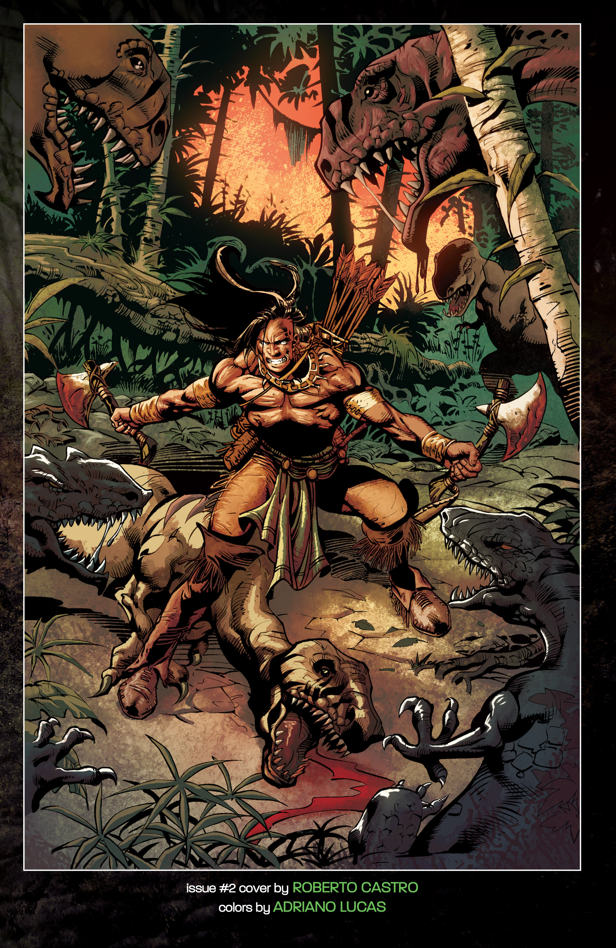 Read online Turok: Dinosaur Hunter (2014) comic -  Issue # _TPB 1 - 136