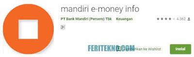 Cara Cek Saldo Kartu e-Money di HP Android 2