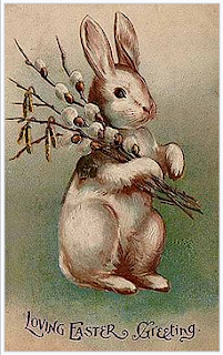 The tradition of the easter bunny began in which european country?