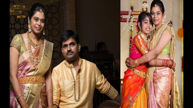 Tollywood-director-Maruthis-daughter-half-saree-function4