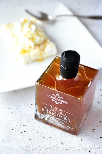 sirop curcuma-gingembre Cur'Caraïbe