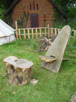 Shambala meadow African-style chair