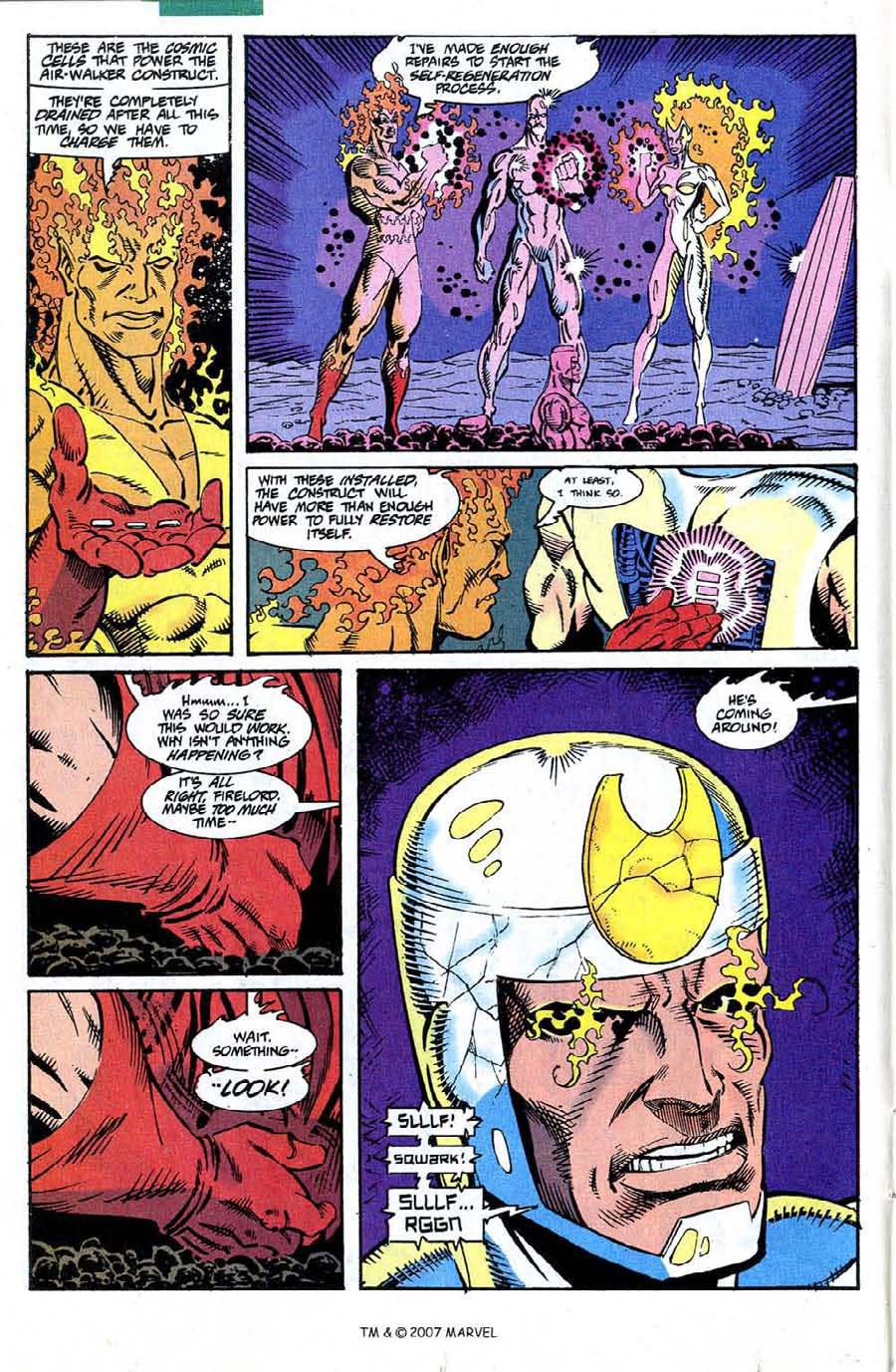 Read online Silver Surfer (1987) comic -  Issue #73 - 16