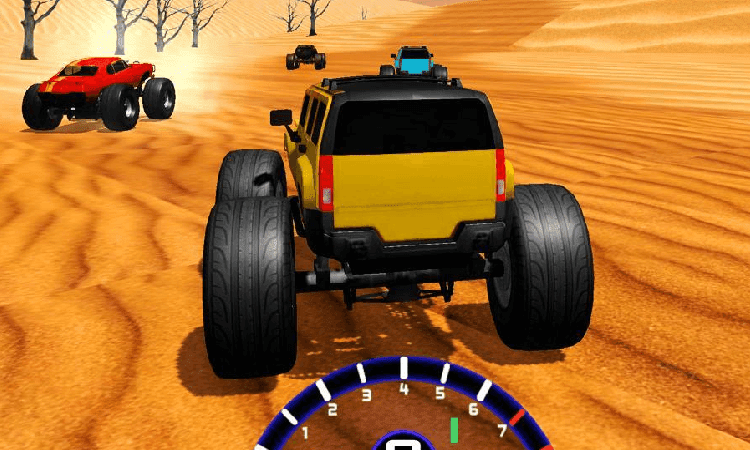 تحميل لعبة Desert Race برابط مباشر