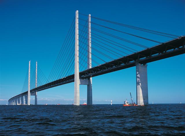 Ponte do Øresund - de Copenhagen a Malmö