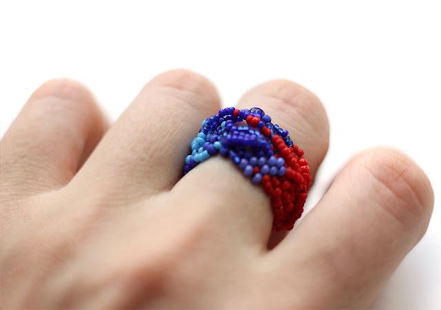 необычные крупные кольца купить в интернет магазине авторской бижутерии