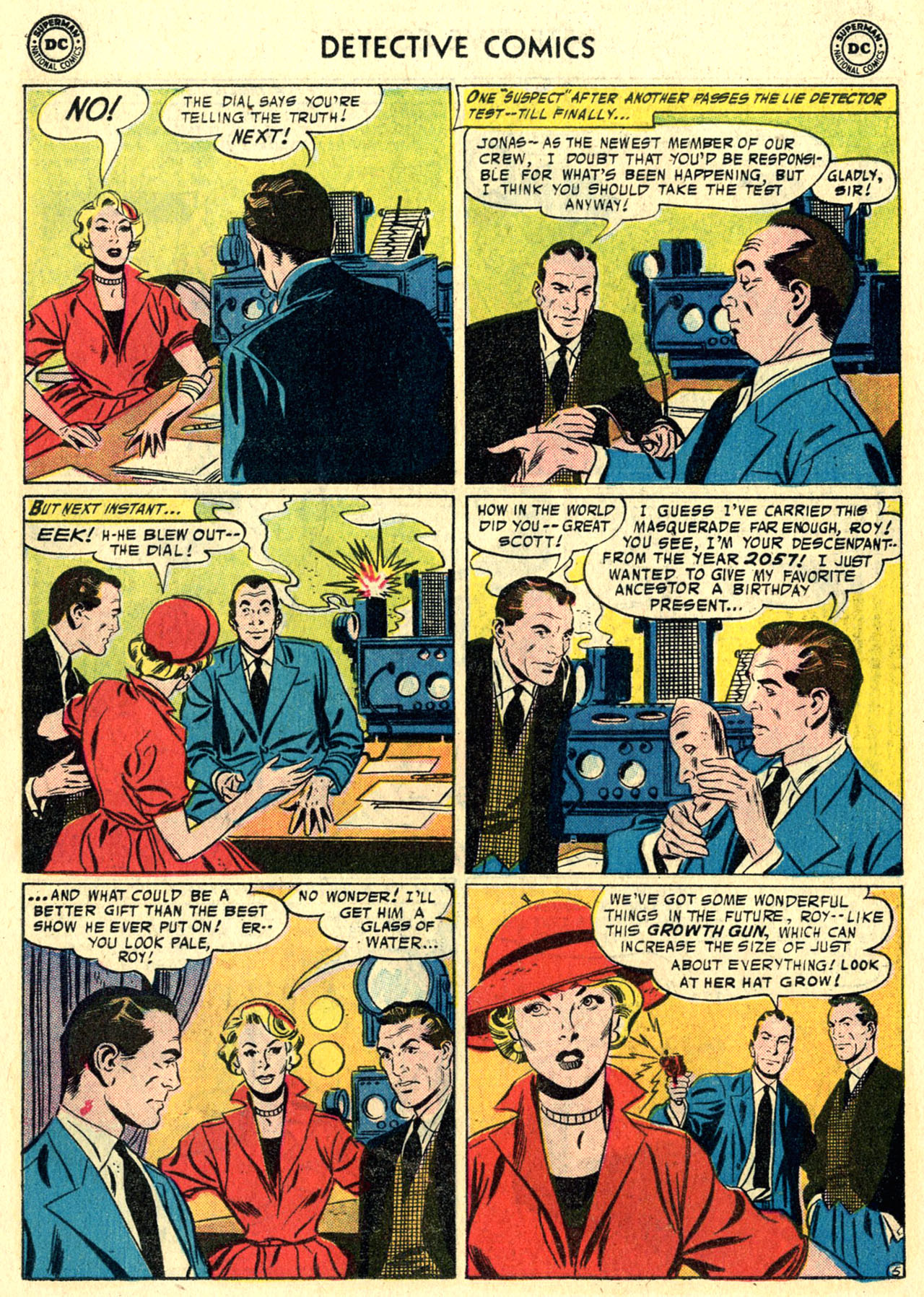 Read online Detective Comics (1937) comic -  Issue #244 - 22