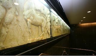 Σταθμός μέτρο στη Χιλή ονομάζεται Ελλάδα και είναι γεμάτος Αρχαία έργα τέχνης