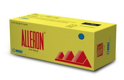 Alleron - Manfaat, Efek Samping, Dosis dan Harga