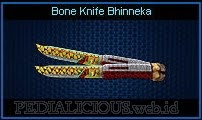 Bone Knife Bhinneka