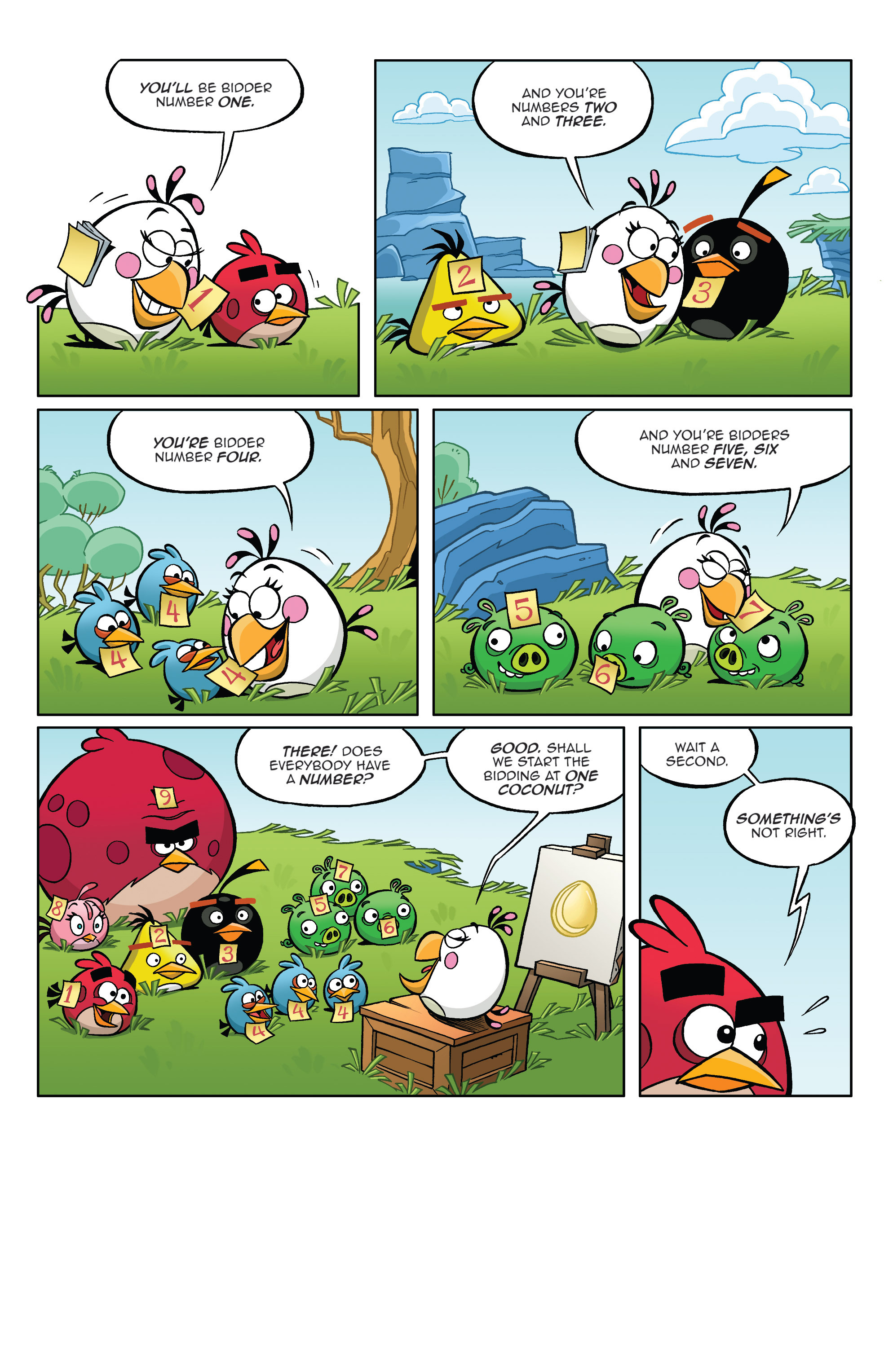 Read online Angry Birds Comics (2014) comic -  Issue #4 - 15