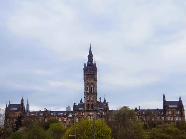 Glasgow Scotland écosse West End université university
