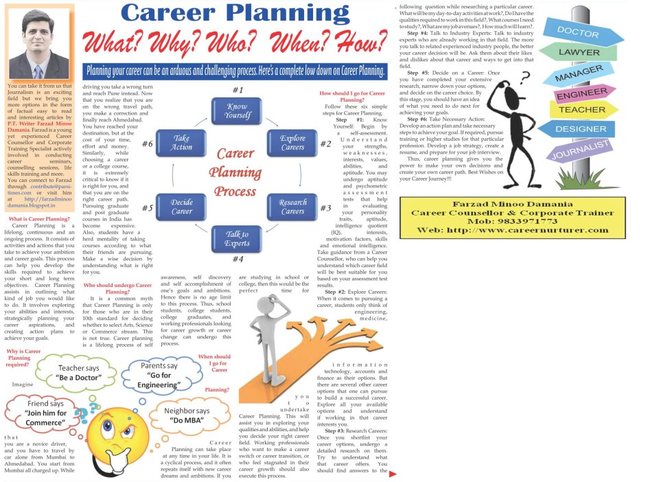 Career planning by commerce students Research paper Academic Writing - planning a career path