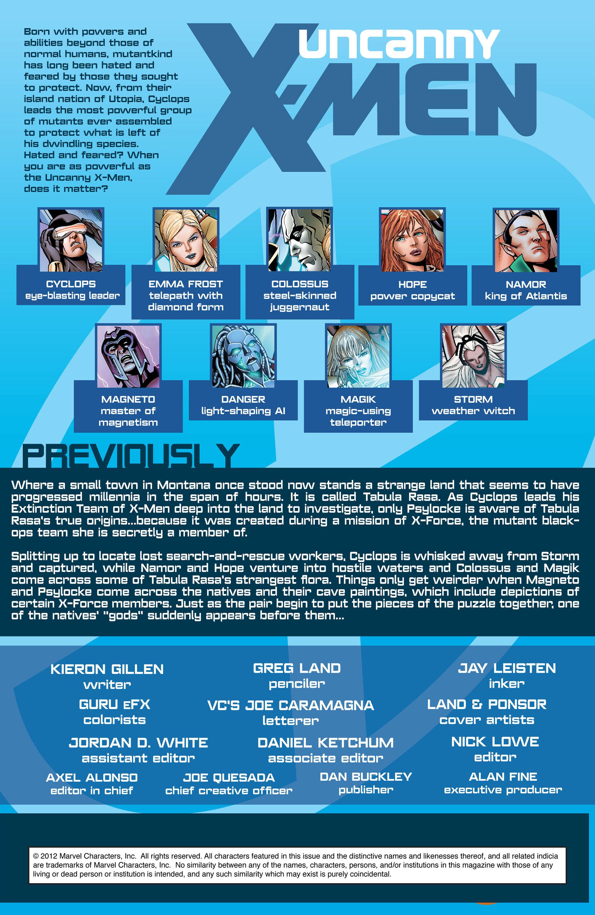 Read online Uncanny X-Men (2012) comic -  Issue #6 - 2