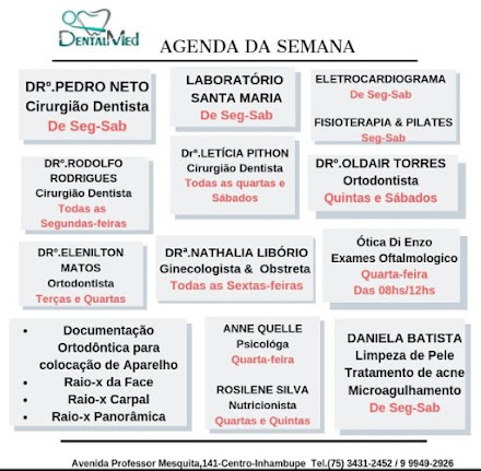AGENDA DENTAL MED
