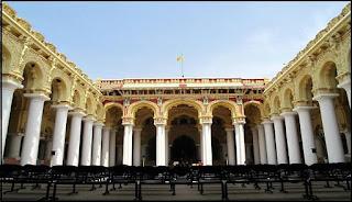 famous Thirumalai Naicker Mahal