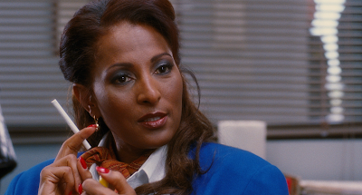 Pam Grier in and as Jackie Brown, Directed by Quentin Tarantino