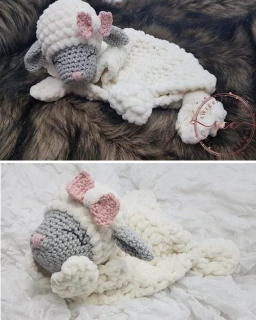 Little Mary Lamb Lovey - Free Pattern
