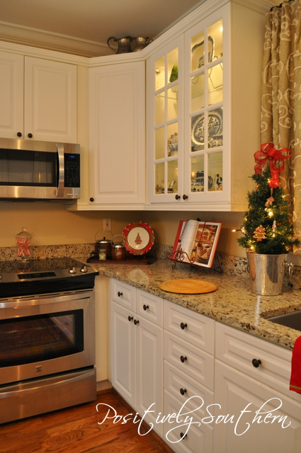 Christmas Styled Kitchen