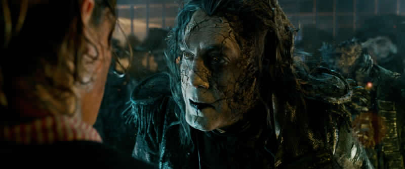 Pirates Of The Caribbean: Dead Men Tell No Tales Gives First Look At Captain Jack Sparrow And Will Turner!