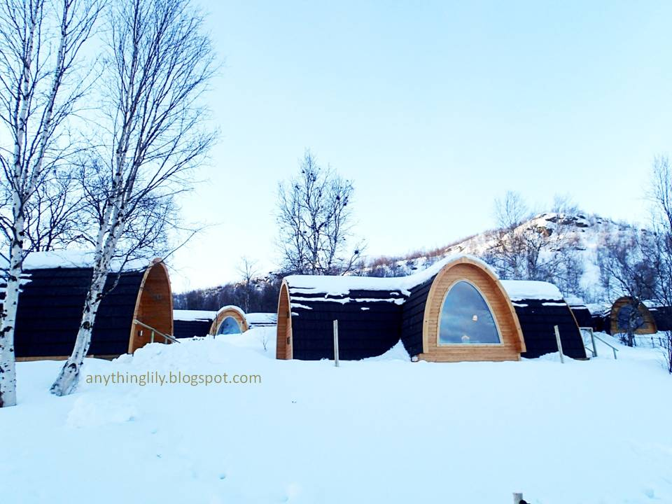 Anythinglily norway part 8 a tour around kirkenes snowhotel for Kirkenes snow hotel gamme cabins