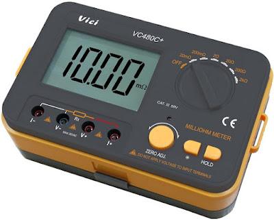 cara kerja ohm meter, cara membaca ohm meter, cara mengukur ampere dengan multimeter, cara pemakaian ohmmeter, cara pengukuran ohm meter,