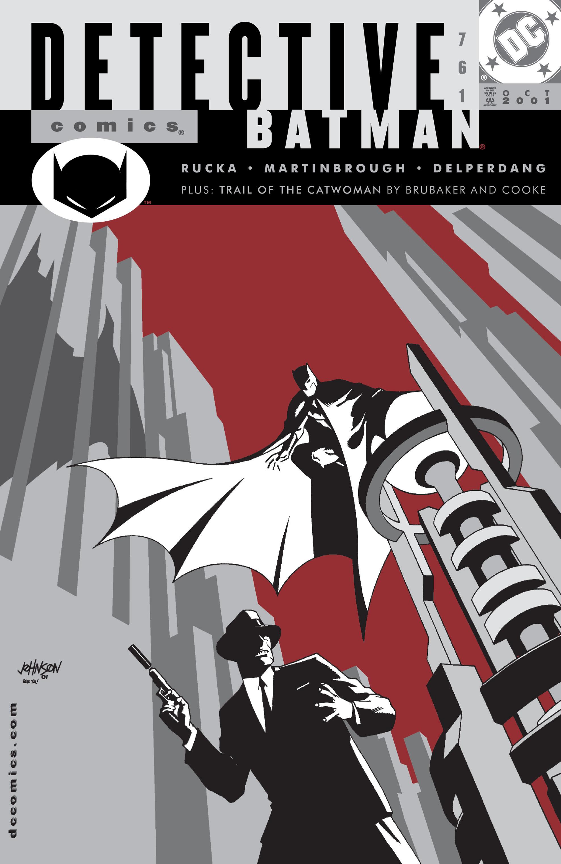 Detective Comics (1937) 761 Page 1