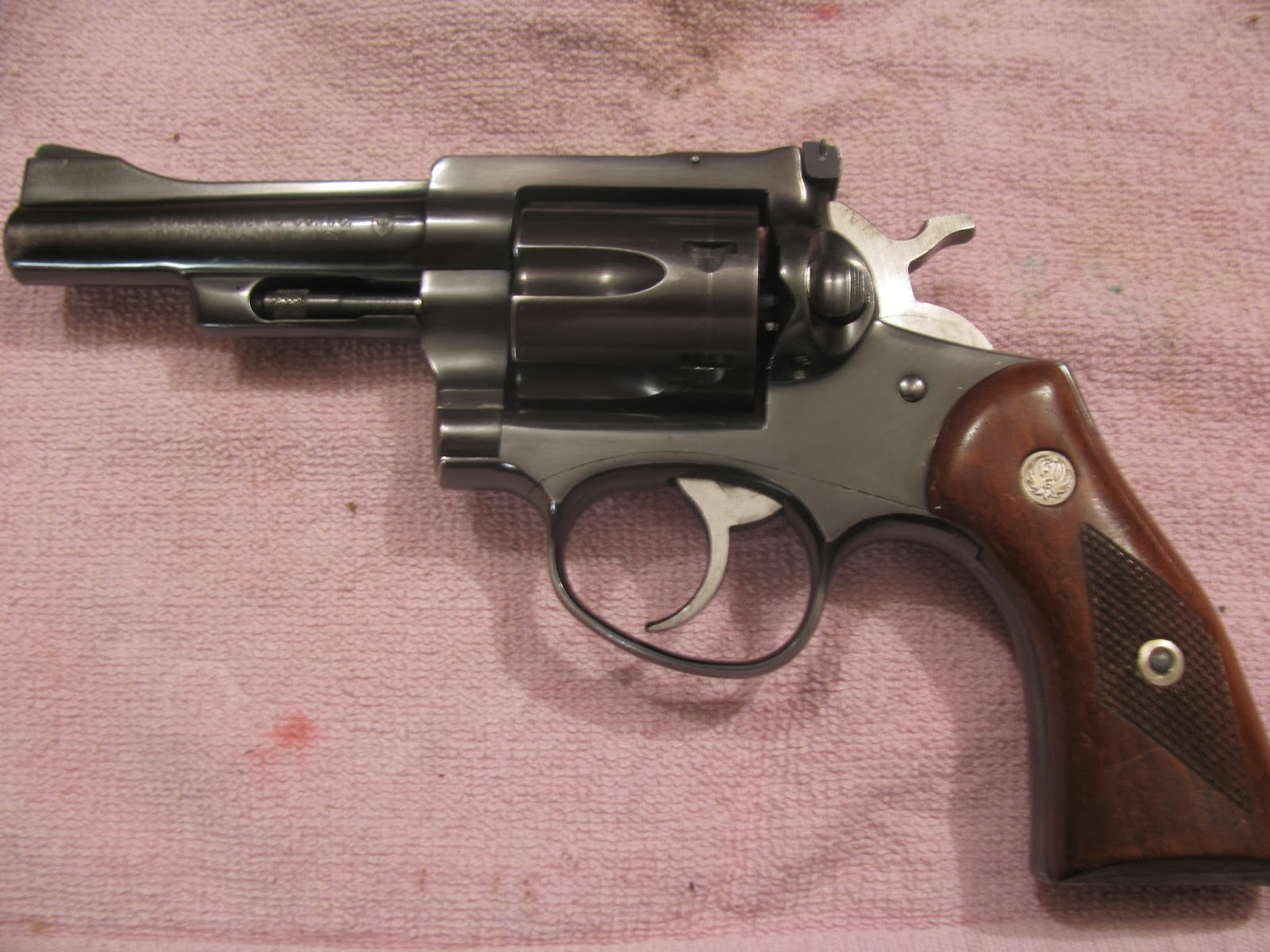 Assuming the gun left the factory with good timing, bad timing on a double  action revolver is usually a problem with one of three parts.