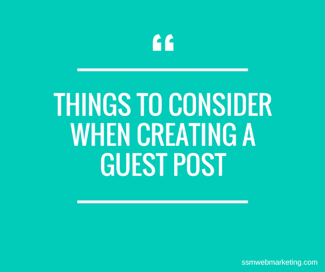 Creating a Guest Post