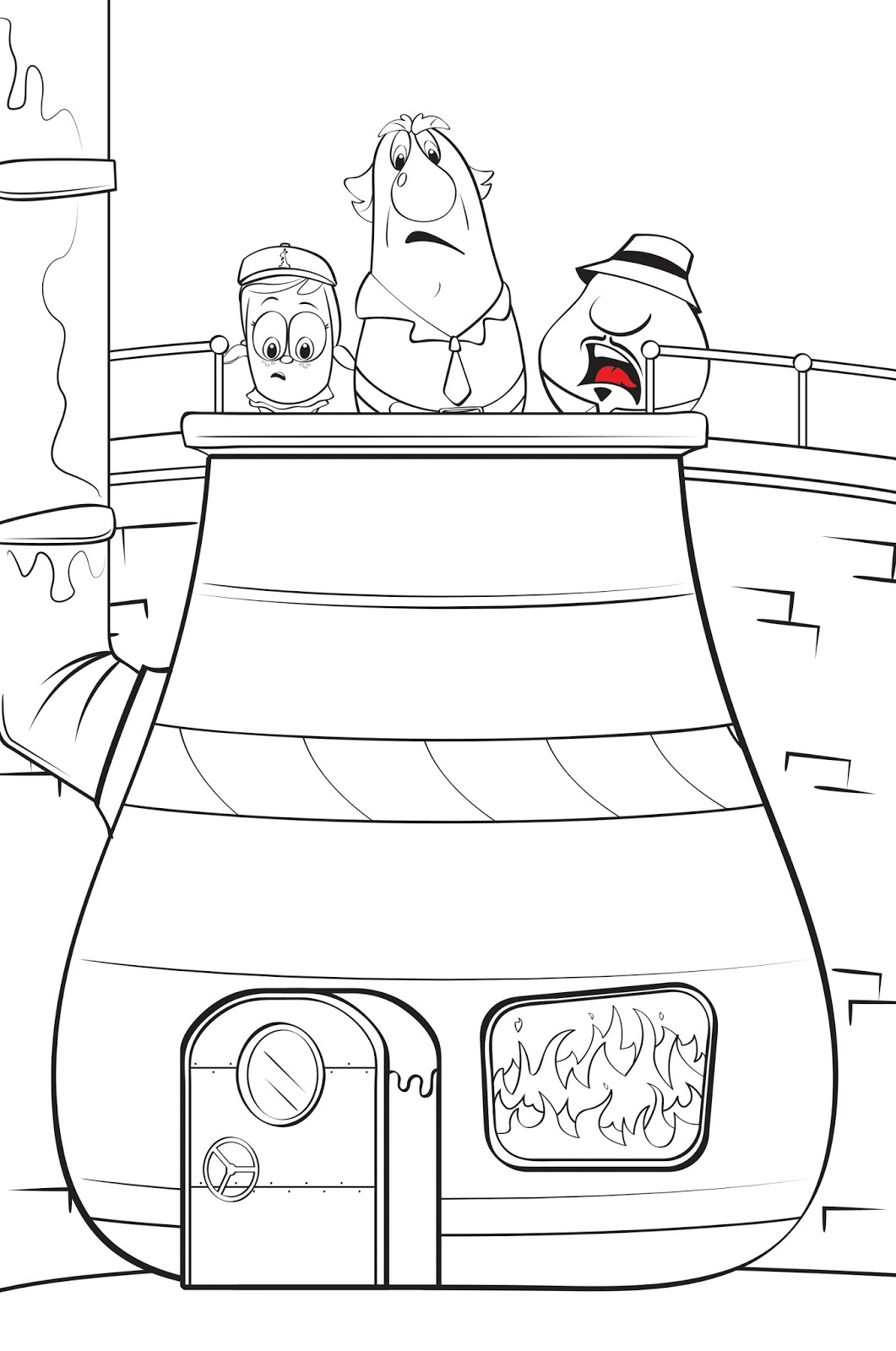 Philip A. Buck: Coloring VeggieTales Super Comics: Rack