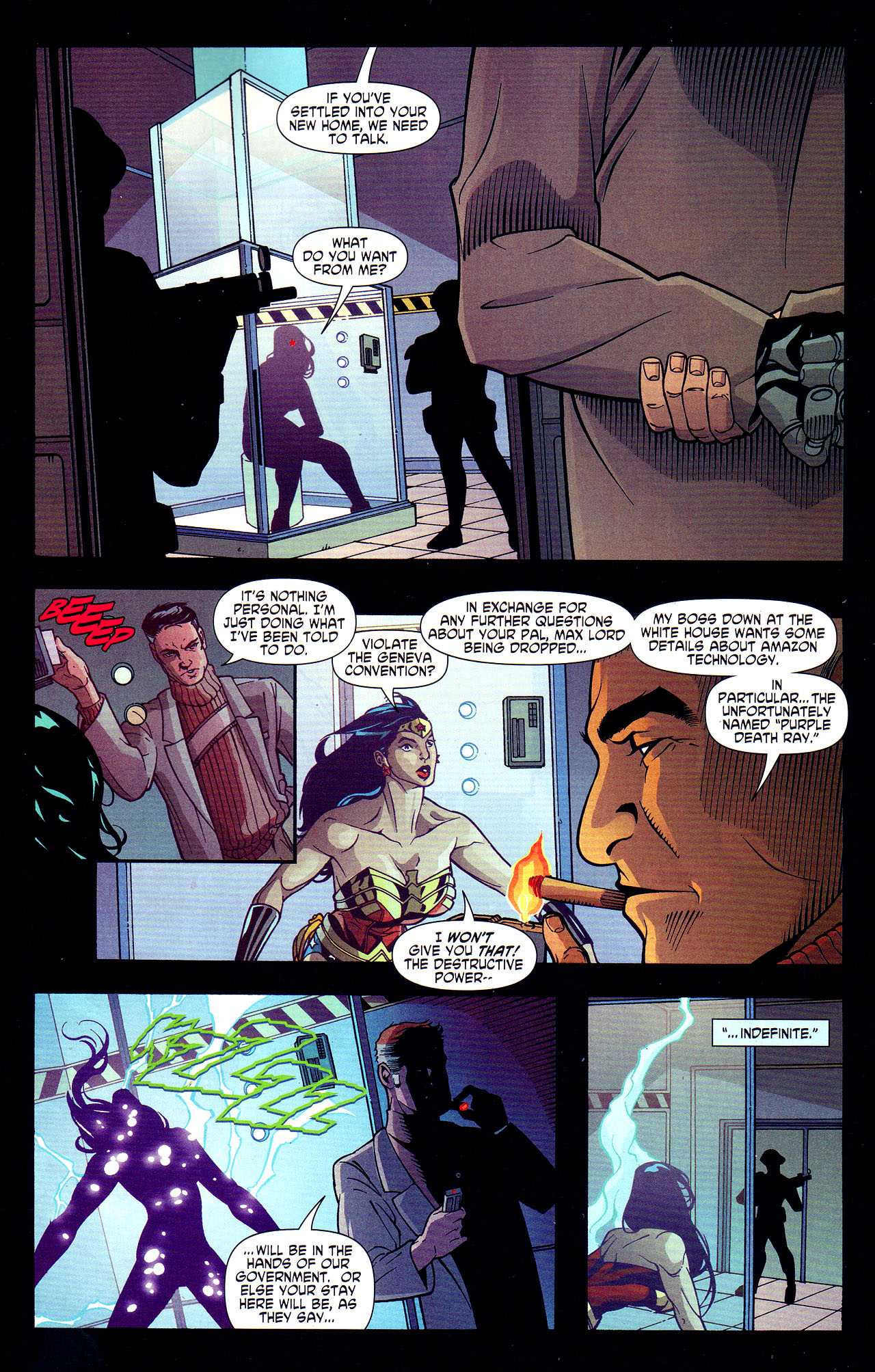 Read online Wonder Woman (2006) comic -  Issue #7 - 19