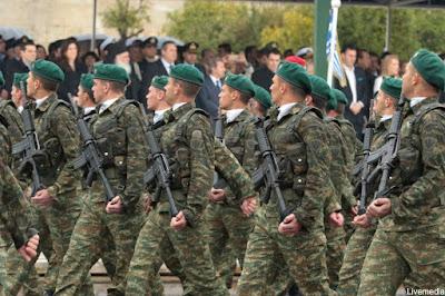 Διαγωνισμός για 1.000 νέους οπλίτες με τριετή σύμβαση.