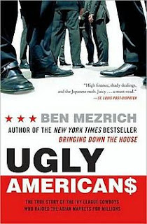 Ugly Americans, Ben Mezrich, Lad Lit, Lad Lit Book Reviews, Book Reviews,