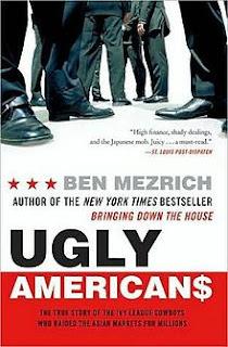 Ugly Americans, Ben Mezrich, Lad Lit, Lad Lit Book Reviews, Book Reviews,