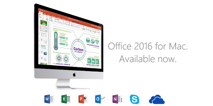 Microsoft Office 2016 for Mac released to Office 365 subscribers