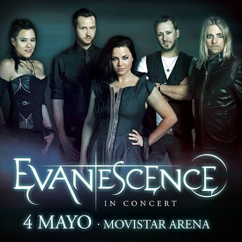 Evanescence vuelve a Chile! [Actualizado]