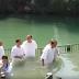 JAIR BOLSONARO É BATIZADO NO RIO JORDÃO EM ISRAEL (VÍDEO)