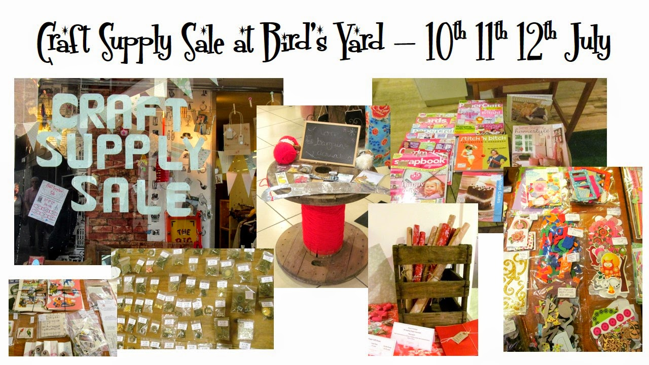 craft supply pop up bird's yard sheffield