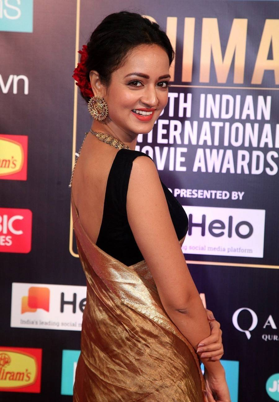 South Indian Actress Shanvi Srivastava at SIIMA Awards 2019