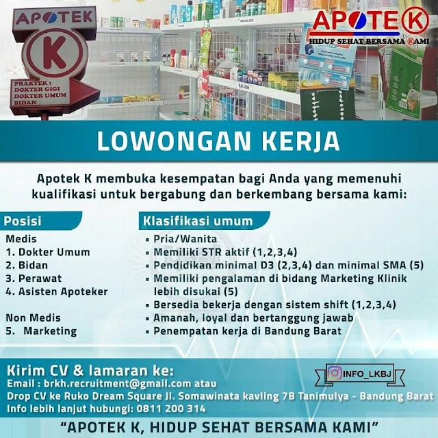 Lowongan Kerja Apotek K Bandung Barat