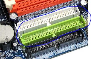fungsi port ata/ide pada motherboard