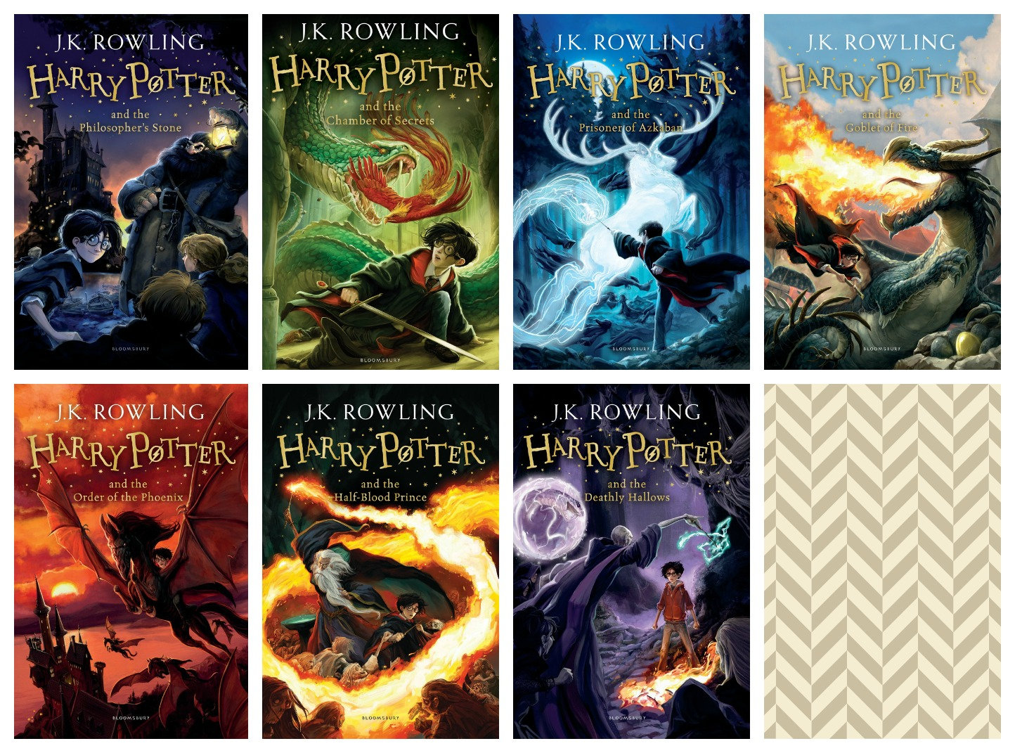 Harry Potter Original Book Covers Uk ~ Many covers monday all the harry potter series under