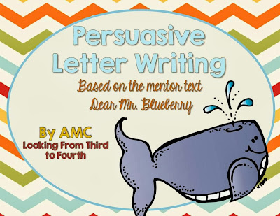 http://www.teacherspayteachers.com/Product/Persuasive-Letter-Writing-Based-on-the-Mentor-Text-Dear-Mr-Blueberry-1077994