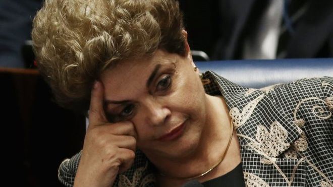 BREAKING: Brazil's Rousseff Dilma removed from office by impeachment vote