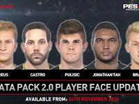 PES 2017 DLC 2 Face Pack Online Khusus Kerak