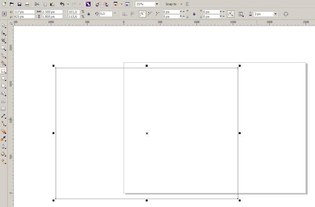 Membuat Retangel Tools di Lembar Kerja