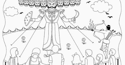 dussehra-cartoon-wallpaper
