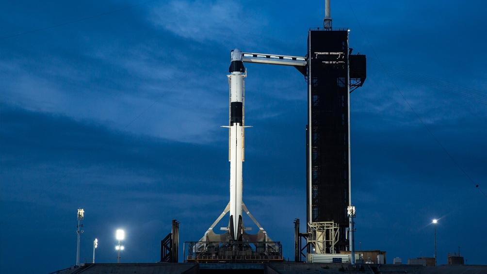 Suspendieron el lanzamiento de la nave espacial Crew Dragon