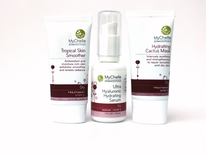 one little vice beauty blog: Tropical Skin Smoother, Hyaluronic Hydrating Serum and Cactus Mask